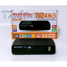 Т2 ресивер фото - World Vision T624 M3