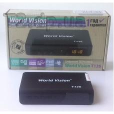 dvb-t2 тюнер World Vision Т126