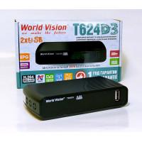 Т2 приймач World Vision T624 D3