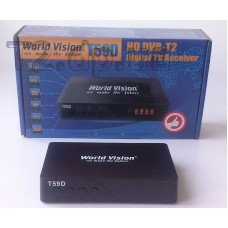 Т2 тюнер World Vision T59D