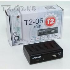 Openbox T2-06 Mini - цифровий ефірний DVB-T2 ресивер - фото