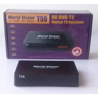 Т2 тюнер World Vision T59