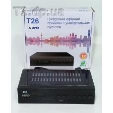 Цифровой Эфирный ресивер T26
