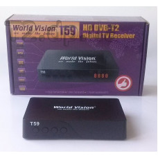 DVB-T2 тюнер World Vision T59