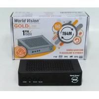 Т2 тюнер World Vision T64М