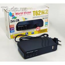 Т2 ресивер фото World Vision T62-M2