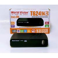 Т2 тюнер World Vision T624 M3