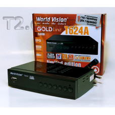 Т2 ресивер World Vision T624 A