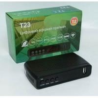 DVB-T2 ресивер T23