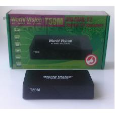 dvb - t2 тюнер World Vision Т59М