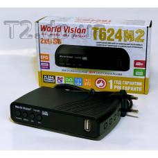 World Vision T624M2 - єфірний приймач
