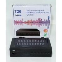 DVB-T2 ресивер T26