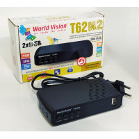 Ресивер Т2 World Vision T62M2