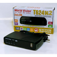 Т2 приймач World Vision T624 M2