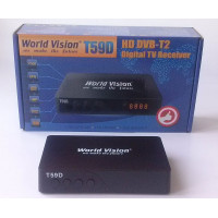 Т2 тюнер World Vision T59D