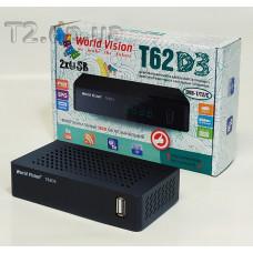 Цифровий ефірний DVB-T2 фото World Vision T62D3